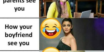 Alia Bhatt Funny Photo