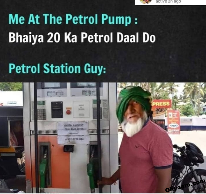 memes on petrol price