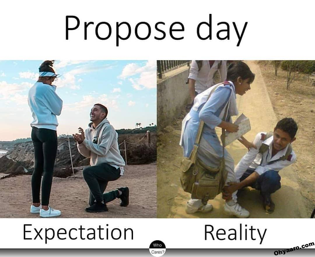 Funny Propose Day Image