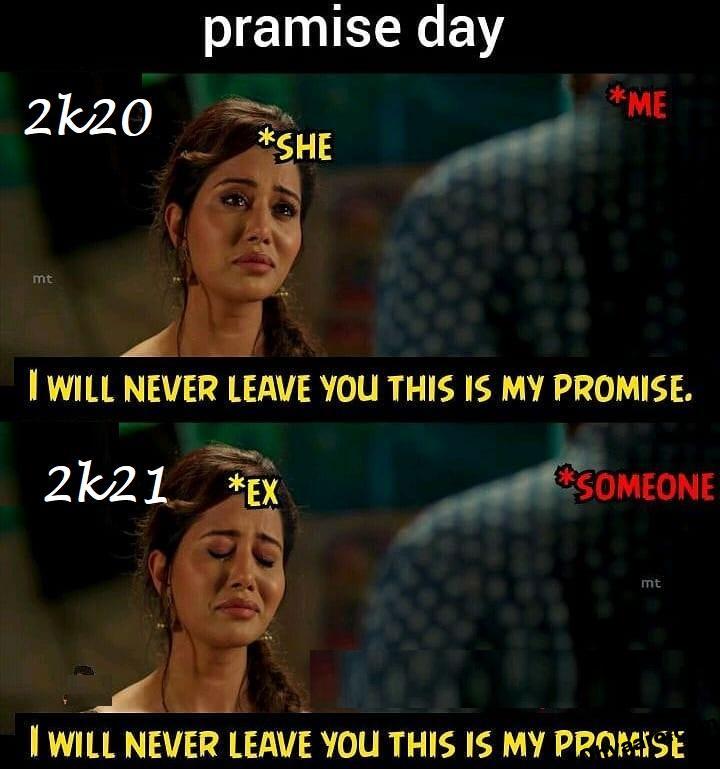 Promise Day Memes