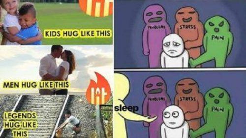Hug Day Funny Jokes Images