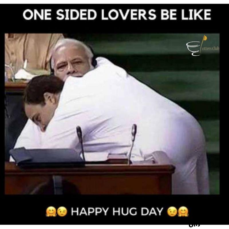 Hug Day Funny Memes Images