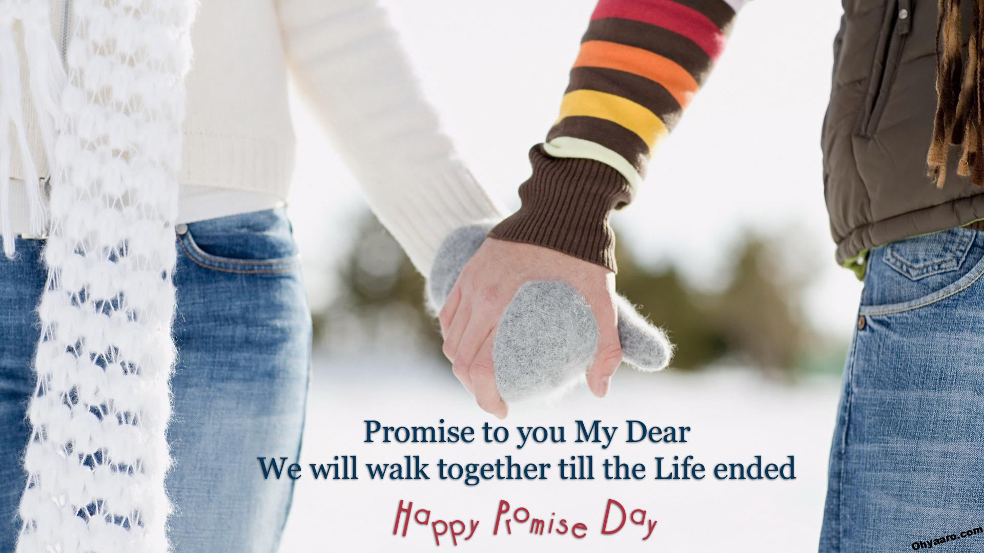 Happy Promise Day Status Picture