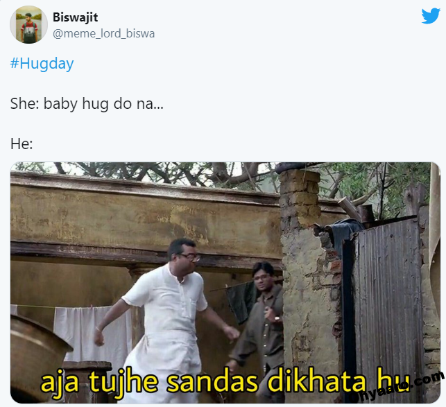 Hug Day Funny Memes Picture
