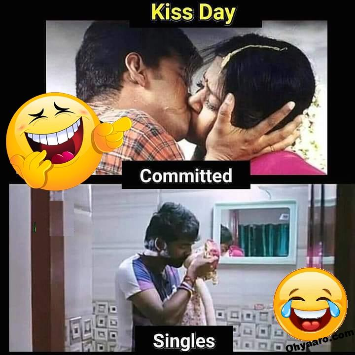 Kiss Day Funny Memes Picture