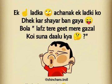 shinchan funny joke for whatsapp