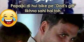 Funny Akshay Kumar Face