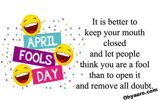 Funny April Fools Day Quotes