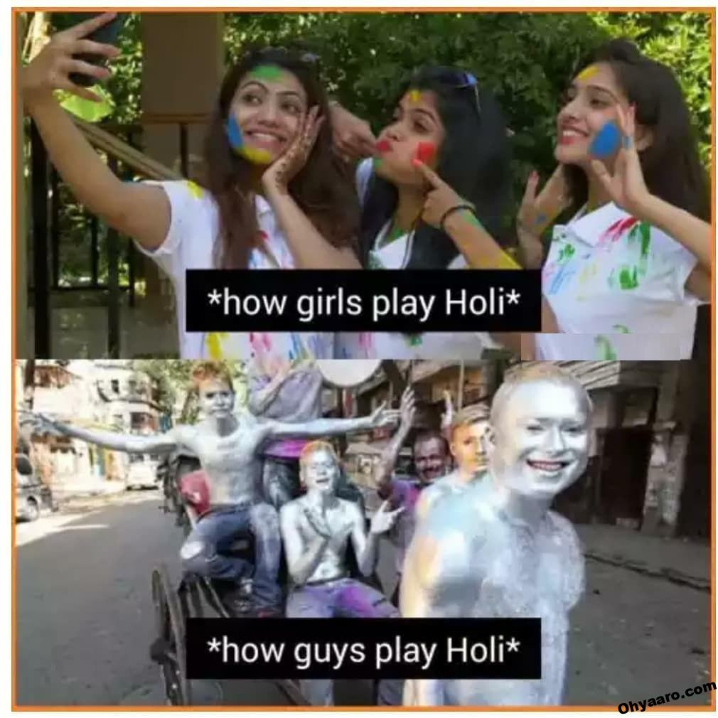 Holi Funny Jokes for WhatsApp