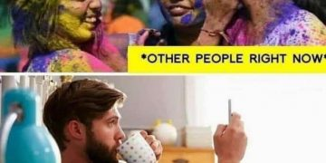 Holi Funny Memes picture