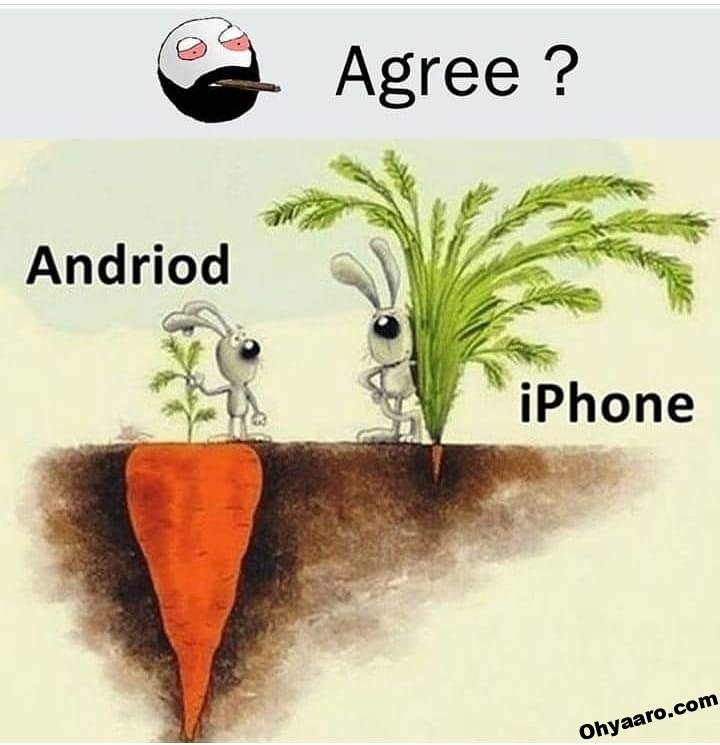 Iphone vs android Funny Memes