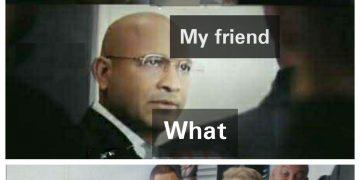 holi memes with friend