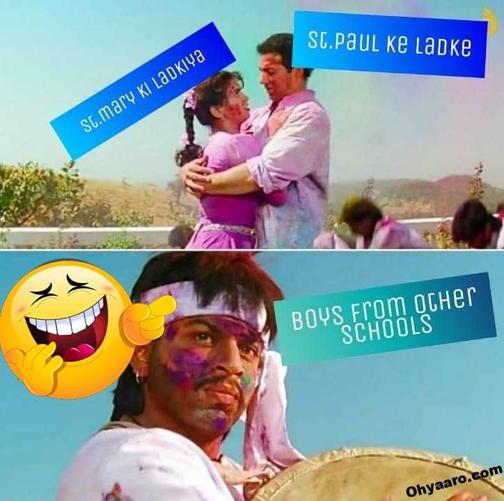 Happy Holi Funny Pictures