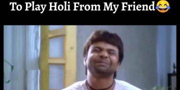 Rajpal Yadav Funny Holi Memes
