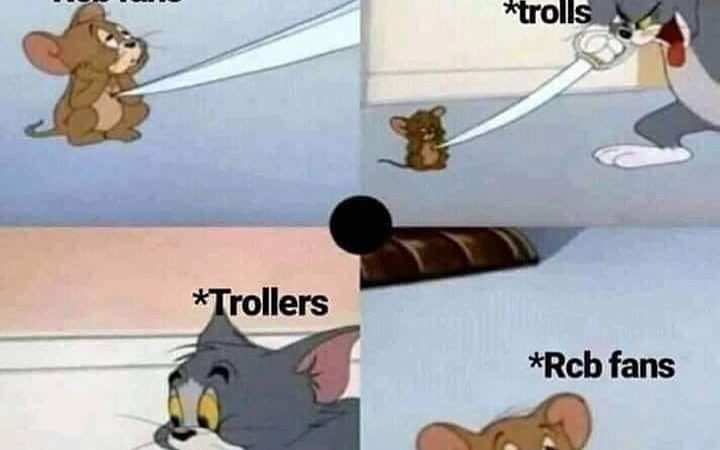 Top 10 RCB Funny Memes
