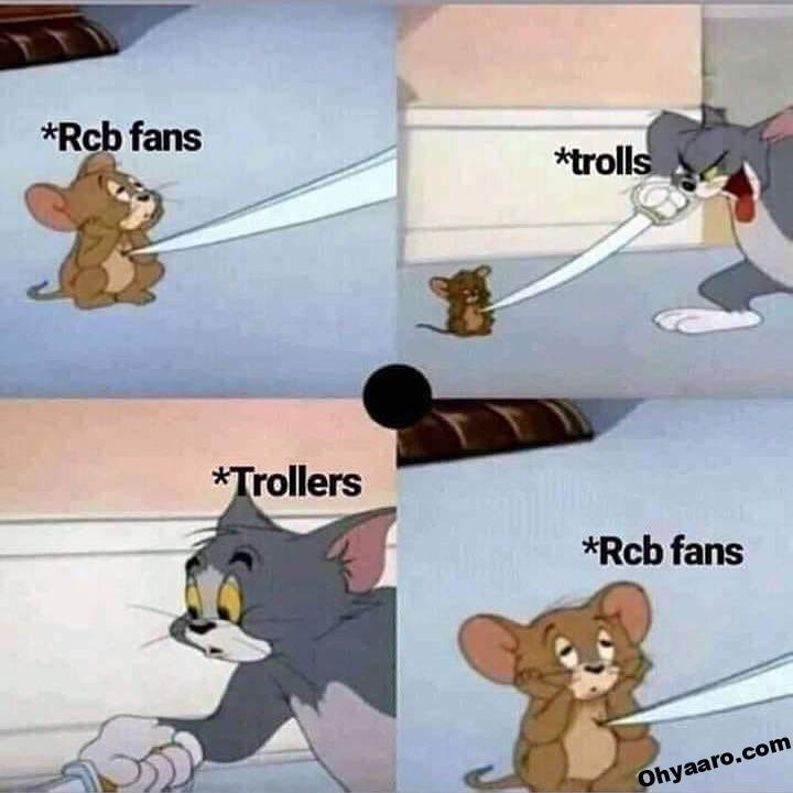 RCB Funny Memes