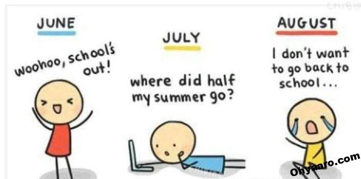 Summer Season Jokes