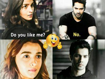 alia bhatt varun dawan funny memes