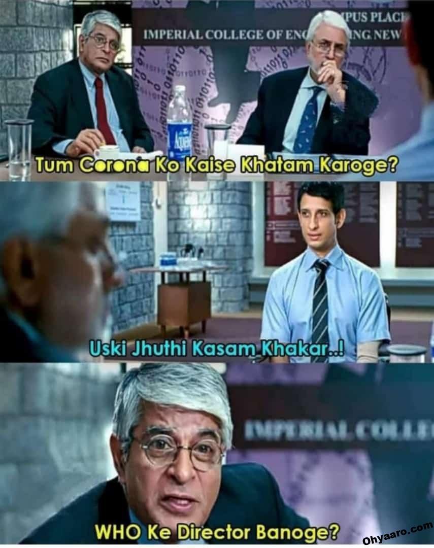 Coronavirus Funny Memes