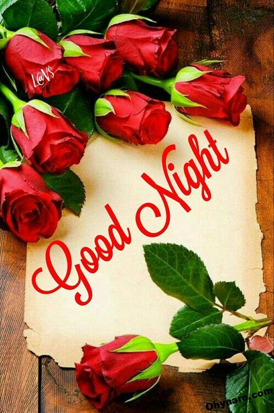 good night wallpaper with rose