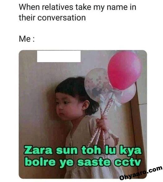 Relatives Funny Memes