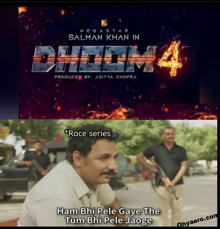 Dhoom 4 Memes