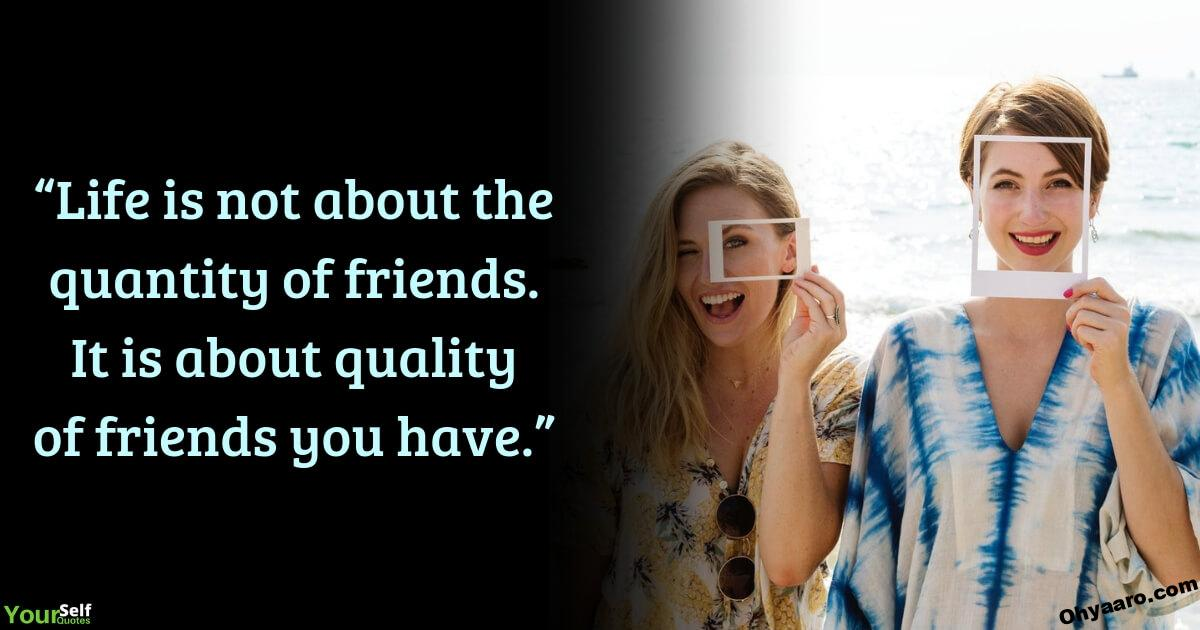 Friendship Quotes Life