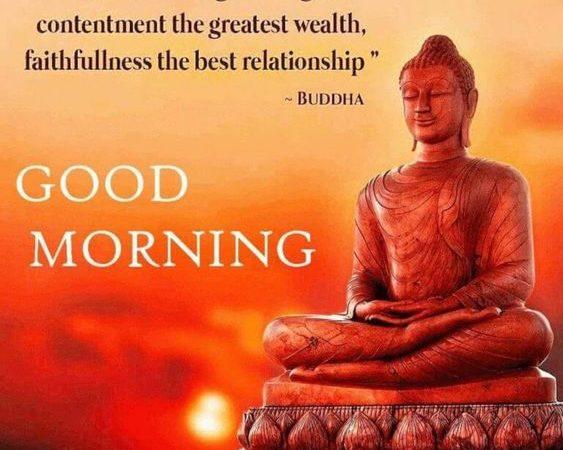 Good Morning Wishes – Buddha Motivational Quotes