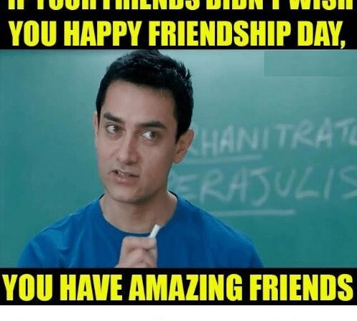 Friendship Day Funny Memes Photo