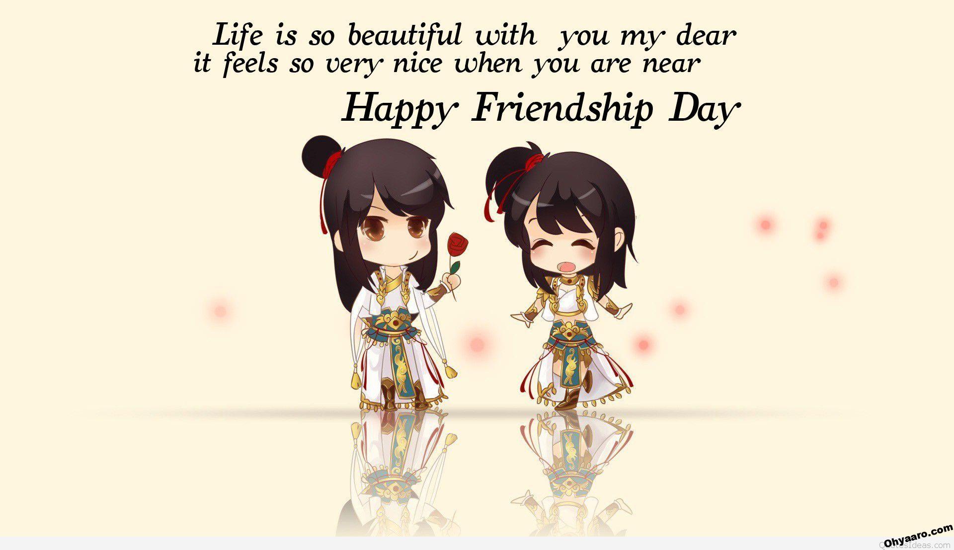 friendship day wallpaper cartoon images]