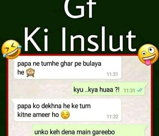 Girlfriend Boyfriend Funny Chats – Funny WhatsApp Status