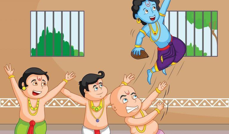 Krishna Janmashtami Funny Photo