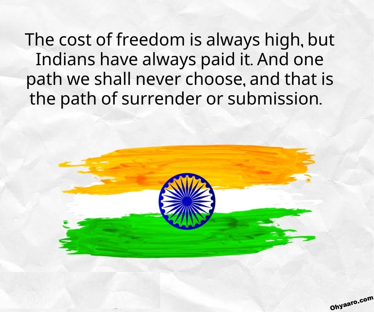 happy independence for status