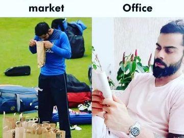 Virat Kohli Funny Memes