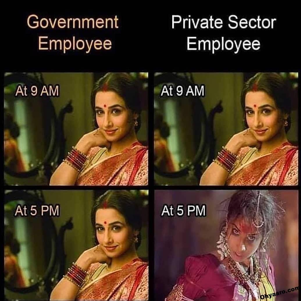 govrt. privat memes