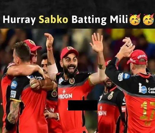 Funny RCB Memes Pictures – Virat Kohli Memes
