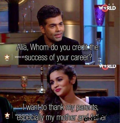 Funny Alia bhatt Memes Image