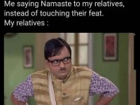 Funny Relatives WhatsApp Memes