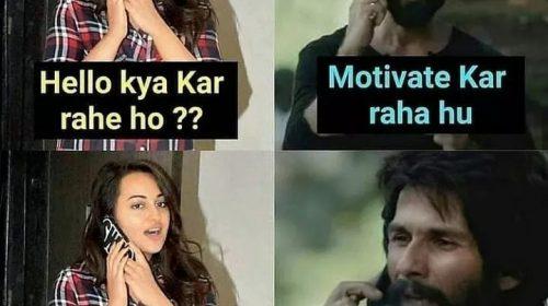 Shahid Kapoor Memes